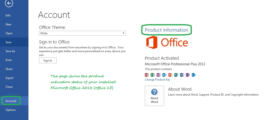 office 15 product key