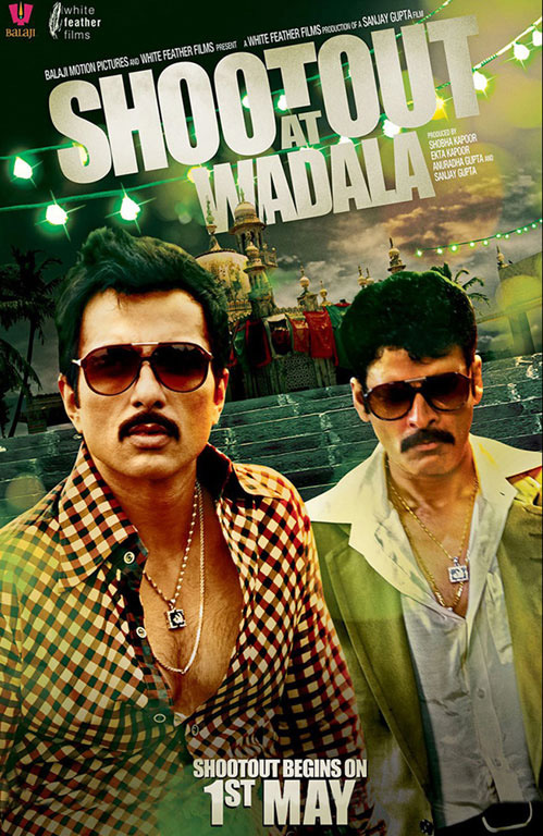 Shootout at Wadala Bollywood Movie Poster