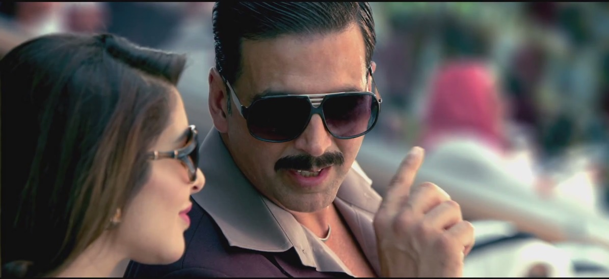 Akshay Kumar and Sonakshi Sinha in Once Upon A time in Mumbaai Again