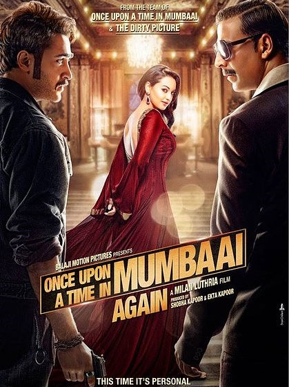 Poster of Once Upon A Time In Mumbaai Again Movie