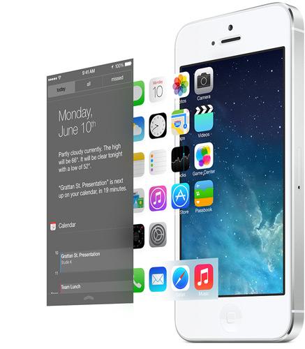 iOS 7 Design Layers