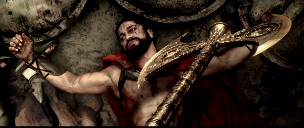 King Leonidas in 300 Rise of an empire (2014)