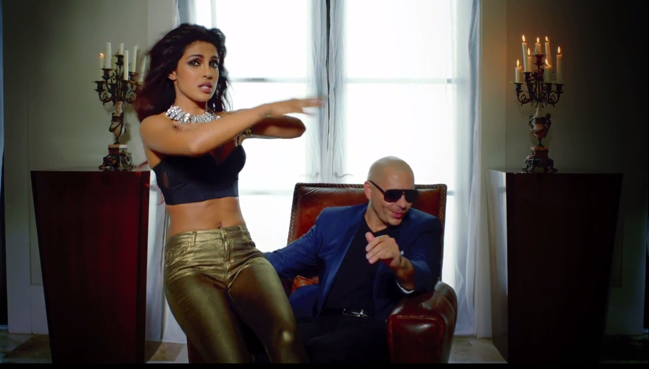 Priyanka Chopra and Pitbull dancing together in Exotic (2013)