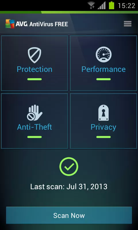 AVG Anitvirus Security Android