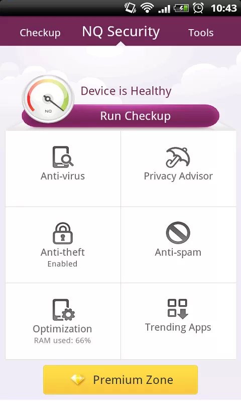 NQ Mobile Security and Antivirus Android