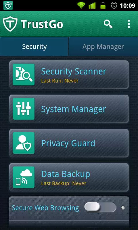 TrustGo Antivirus and Mobile Security Android