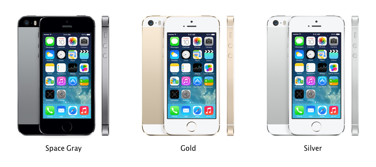 All Color iPhone 5S