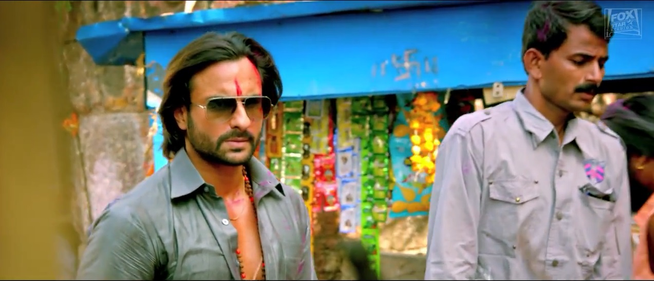 Killing Look of Saif's With Sun Glasses on Bullett Raja Trailer