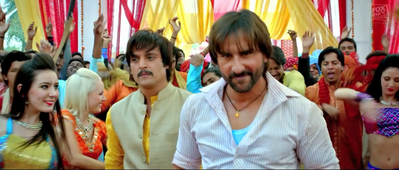 Saif Ali Khan and Jimmy Shergill on a Song of Bullet Raja Trailer