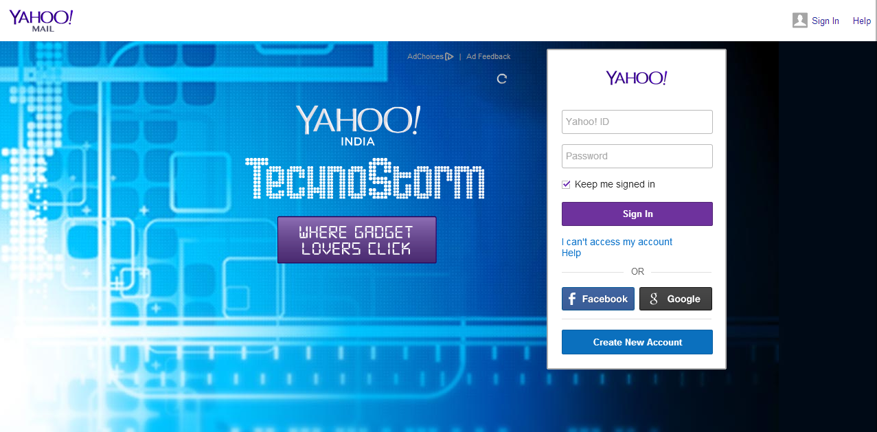 How to create email in yahoo mail